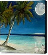 Just Beyond The Moon Canvas Print by Sharon Burger