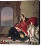 Kandahar Lady Of Rank Canvas Print by James Rattray