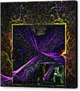 Karmic Doorways Of Destiny Canvas Print by Rebecca Phillips