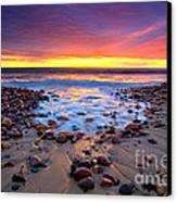 Karrara Sunset Canvas Print by Bill  Robinson