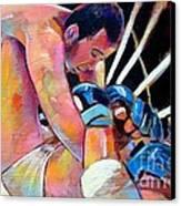 Kazushi Sakuraba 1 Canvas Print by Robert Phelps