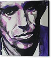 Keith Richards Canvas Print by Chrisann Ellis