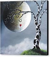 Key To My Imagination By Shawna Erback Canvas Print by Shawna Erback