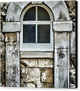 Keystone Window Canvas Print by Heather Applegate