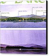 Kezar Lake View Canvas Print by Mary Helmreich