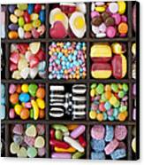 Kids Sweets Canvas Print by Tim Gainey