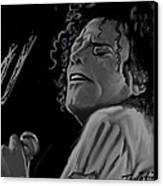 King Of Pop Canvas Print by Twinfinger