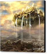 Kingdom Come Canvas Print by Tamer and Cindy Elsharouni