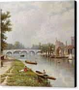 Kingston On Thames Canvas Print by Robert Finlay McIntyre