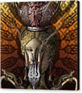 Kitchen Goddess Canvas Print by Larry Butterworth