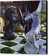 Knight's Magic Canvas Print by Jeanne Newton Schoborg