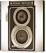 Kodak Reflex Camera Canvas Print by Mike McGlothlen