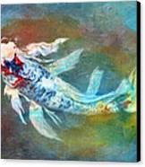 Koi Fantasy Canvas Print by Robert Jensen