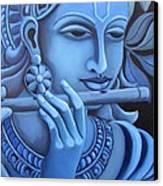 Krishna Canvas Print by Vishwajyoti Mohrhoff