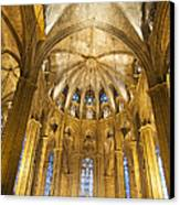 La Catedral Barcelona Cathedral Canvas Print by Matthias Hauser