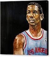 La Clippers' Chris Paul  Canvas Print by Michael  Pattison