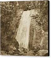 La Coca Falls El Yunque National Rainforest Puerto Rico Print Vintage Canvas Print by Shawn O'Brien