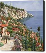 La Costa Canvas Print by Guido Borelli