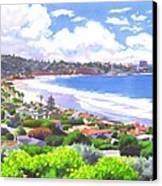 La Jolla California Canvas Print by Mary Helmreich