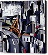 La Rive Gauche Canvas Print by Catherine Abel
