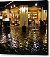 La Roberto's Trattoria Canvas Print by Jan Moore