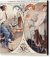 La Vie Parisienne 1922 1920s France Leo Canvas Print by The Advertising Archives