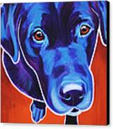 Lab - Olive Canvas Print by Alicia VanNoy Call