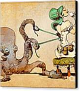 Lacing Up Canvas Print by Brian Kesinger