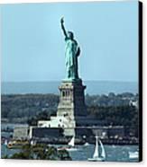 Lady Liberty Canvas Print by Kristin Elmquist