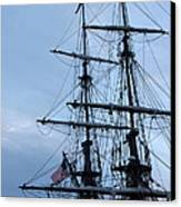 Lady Washington's Masts Canvas Print by Heidi Smith