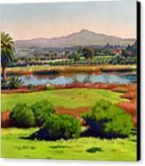 Lago Lindo Rancho Santa Fe Canvas Print by Mary Helmreich