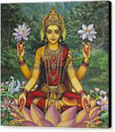 Lakshmi Canvas Print by Vrindavan Das