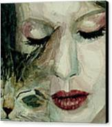 Lana Del Rey And A Friend  Canvas Print by Paul Lovering