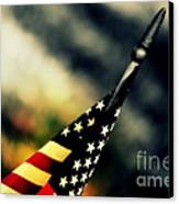 Land Of The Free - 2 Canvas Print by Susanne Van Hulst
