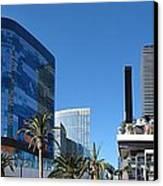 Las Vegas - Cosmopolitan Casino - 12121 Canvas Print by DC Photographer