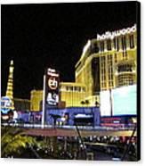Las Vegas - Planet Hollywood Casino - 12124 Canvas Print by DC Photographer