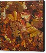 Last Fall In Monroe Canvas Print by Thu Nguyen