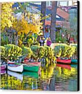 Late Afternoon Stroll Canvas Print by Chuck Staley