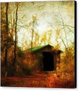Late October Canvas Print by Gothicolors Donna Snyder