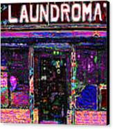 Laundromat 20130731 Canvas Print by Wingsdomain Art and Photography