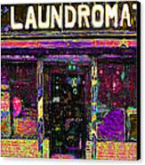 Laundromat 20130731p45 Canvas Print by Wingsdomain Art and Photography