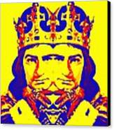 Laurence Olivier Double In Richard IIi Canvas Print by Art Cinema Gallery