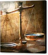 Lawyer - Scale - Balanced Law Canvas Print by Mike Savad
