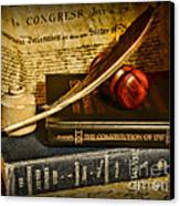 Lawyer - The Constitutional Lawyer Canvas Print by Paul Ward