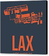 Lax Airport Poster 3 Canvas Print by Naxart Studio