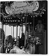 Le Carrousel Canvas Print by David Rucker