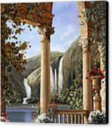 Le Cascate Canvas Print by Guido Borelli