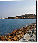 Le Fort Carre - Antibes - France Canvas Print by Christine Till