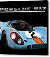 Le Mans King Canvas Print by Peter Chilelli