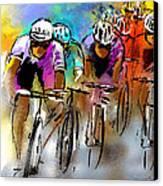 Le Tour De France 03 Canvas Print by Miki De Goodaboom